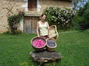 Nathalie David – la Ferme du Cledou – Tisane, plants de légumes, condiments, confitures