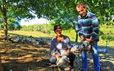 La ferme des Roumevies – La Famille Leymarie